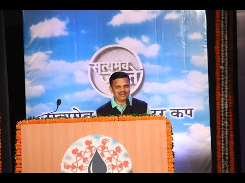 Dr. Avinash Pol at the Satyamev Jayate Water Cup Awards (Marathi)