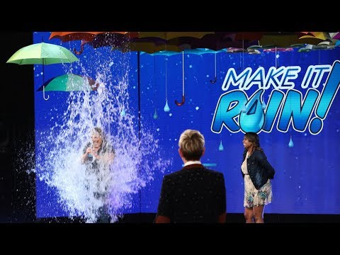 This Is One of the Best Reactions Ever to Winning 'Make It Rain'