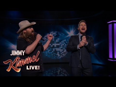 "Guest Host Chris Pratt & Chris Stapleton Sing ""(I've Had) The Time Of My Life"""