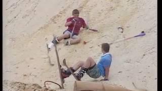 Песчаные лыжники