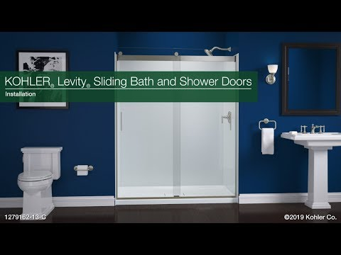 Installation - Levity Sliding Bath and Shower Doors