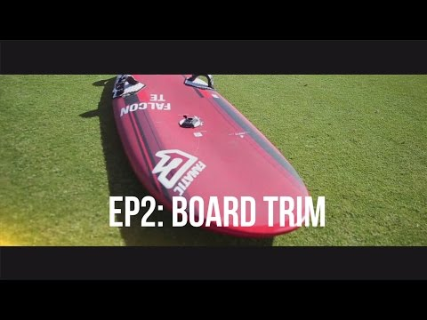 TWS Technique Series – Episode 2: How to set footstraps, fin, mast base on slalom board?