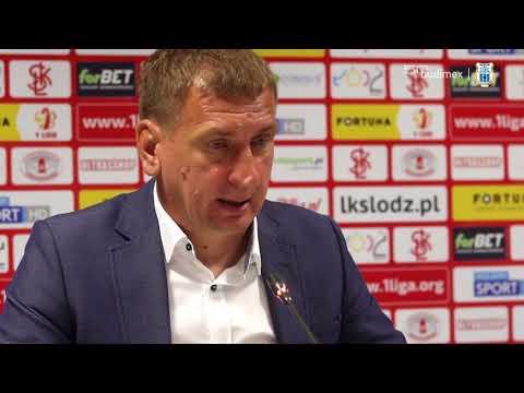Konferencja prasowa po meczu ŁKS Łódź - Stomil