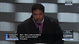 Rev. William Barber FULL REMARKS at Democratic National Convention (C-SPAN)