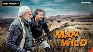 Exclusive Sneak Peek| Man VS Wild with Bear Grylls and PM Modi | Discovery India