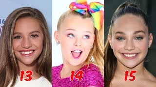 Dance Moms From Youngest To Oldest 2018 ❤ Curious TV ❤