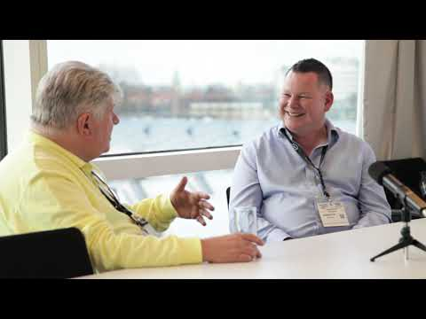Gordon Dutch off BBg talks to Bryan Denyer at ISE 2020