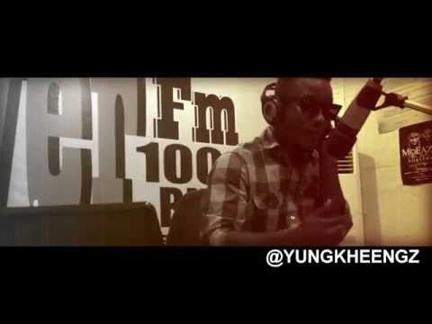 Kheengz  Freestyles in (Nupe & Hausa) on Power 100.5 FM