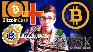 Bitcoin Gold, Bitcoin Cash Plus et Bitcoin : quel futur ?
