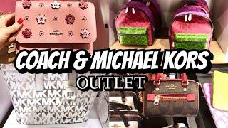 COACH & MICHAEL KORS Outlet SHOP WITH ME Shoes & Handbags