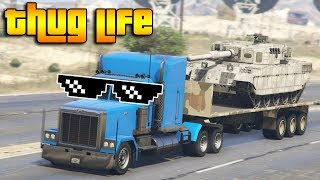 GTA 5 ONLINE : THUG LIFE AND FUNNY MOMENTS (WINS, STUNTS AND FAILS #36)