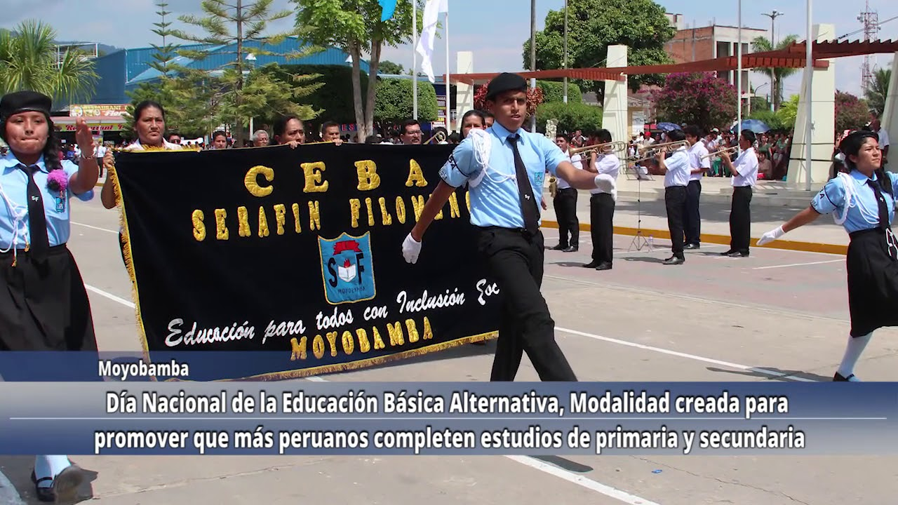 Día Nacional de la Educación Básica Alternativa.