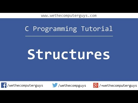 C Programming Language Tutorial (Advanced) – Structures