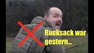Rucksack war gestern - Chest Pack ist heute!