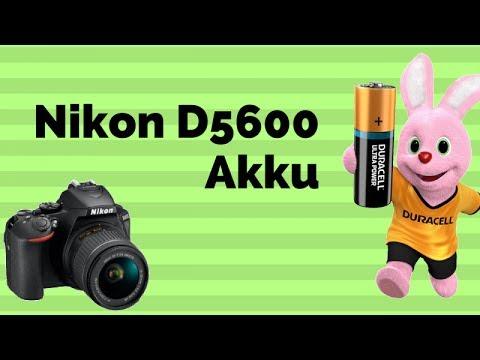 Nikon D5600 Akku, Probleme mit Batteriegriff, Batterie Test