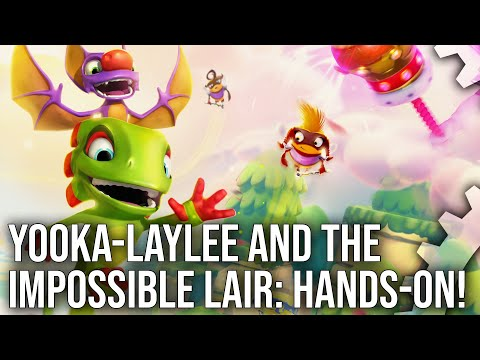 [4K] Yooka Laylee and the Impossible Lair: Xbox One X Early Hands On! Gamescom Build Tested
