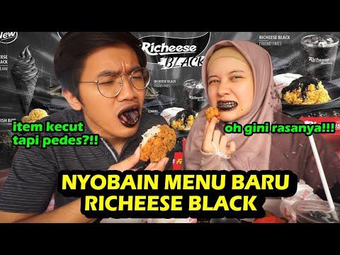 NYOBAIN RICHEESE BLACK! TERNYATA GINI RASANYA 😱😱