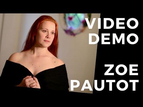 Vidéo démo cinéma Zoé Pautot