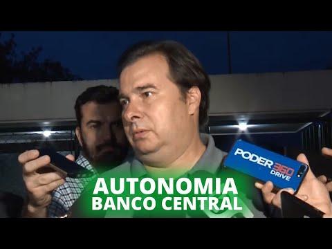 Maia espera votar autonomia do Banco Central no primeiro semestre de 2020 - 22/01/2020