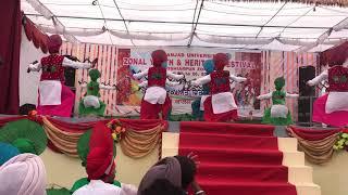 JC Dav College Dasuya Bhangra 2017 (zonal winners)