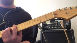 Tainted love by Imelda May Guitar Cover
