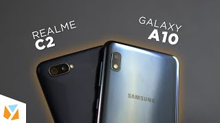 Samsung Galaxy A10 vs Realme C2 Comparison Review