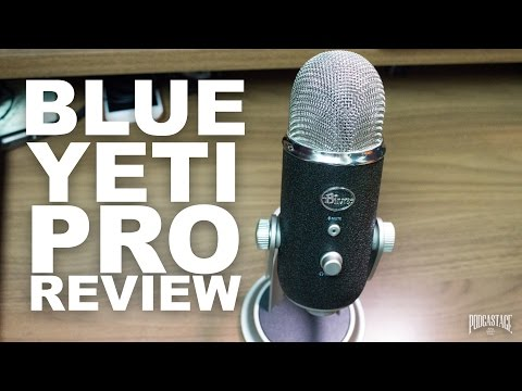 Blue Yeti Pro USB Condenser Mic Review / Test