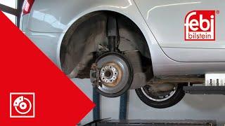 Задні гальмівні накладки та заміни диска (EPB).