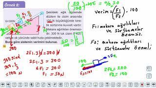 Eğitim Vadisi 11.Sınıf Fizik 15.Föy Basit Makineler 3 (Eğik Düzlem ve Vida) Konu Anlatım Videoları