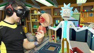 Rick and Morty: VR #1   Развлекаюсь с плюмбусом   HTC VIVE   Упоротые игры