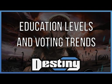A conversation on education levels and voting trends
