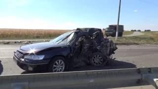 Ужасная авария на трассе Киев - Одесса.