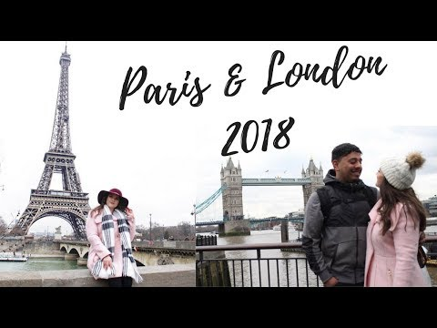 Paris & London 2018 Trip | Jessica Sanchez