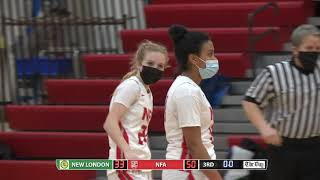 Girls basketball highlights: NFA 66, New London 42