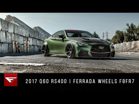 2017 Infiniti Q60 RS400 | Ferrada Wheels F8FR8