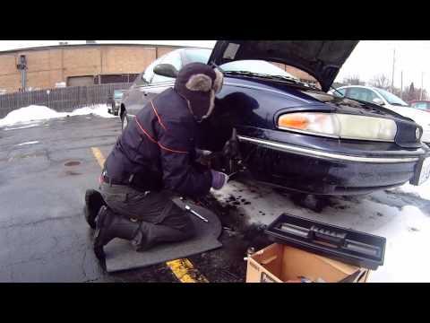 Chrysler LHS 1997 backyard wheel bearing replacement