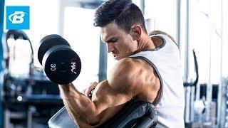 High-Volume Biceps Workout For Mass | Abel Albonettis 30-Day Arms Program