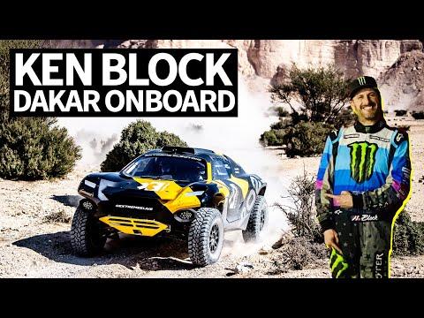 Ken Block Races an Electric Rally Car