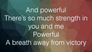 Empire Cast - Powerful Lyrics (Jussie Smollett and Alicia Keys)
