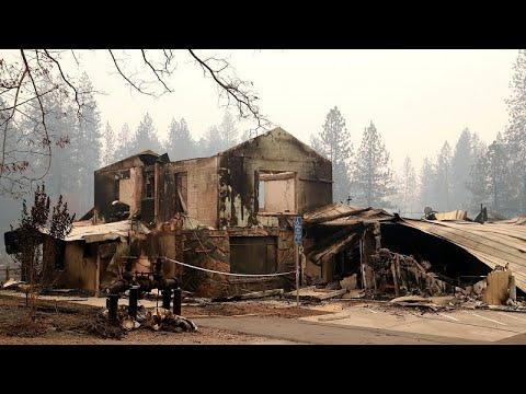 العرب اليوم - شاهد: تشرُّد أكثر من 300 ألف شخص في أميركا بسبب حرائق كاليفورنيا