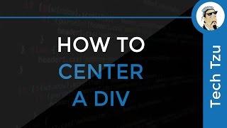 How to center div