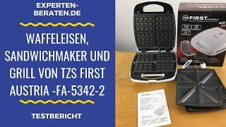"""ᐅ Test-Video - 3-in-1-Sandwichmakers """"Multi Talent"""" - Grill und Waffeleisen von TZS First Austria ☑"""