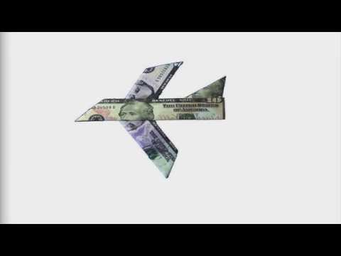 How To Fold An Easy To Fold Money Origami Plane Design