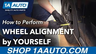 How to Perform Wheel Alignment by Yourself