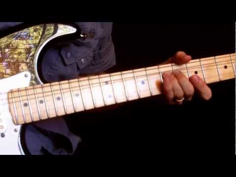 Learn how to play lead guitar Lesson #1 (with tab) Ten easy beginner licks for rock & blues