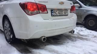 Выхлоп Chevrolet Cruze 1.8 МКПП  /Sound Chevrolet Cruze