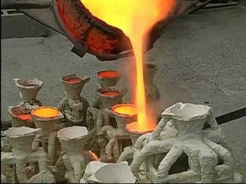Fonderia del bronzo