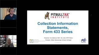 Collection Information Statements for Individuals - Form 433 Series