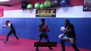 Walt Harris Works Out For May 4 Fight Against Sergey Spivak