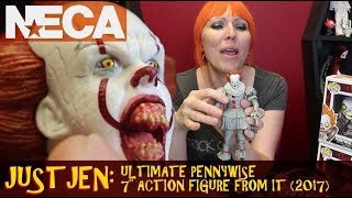 Just Jen Reviews Neca Ultimate Pennywise 2017 | Stephen King's It